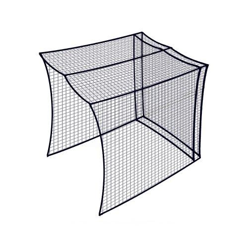 Dynamax Sports Golf Cage Net, Black, 10X10X10-ft
