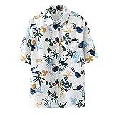 Retro New Clothing T-Shirt Mujeres Summer Style Impreso Solapa Bolsillo Botones Moda Camiseta Loose Cool Casual Tops