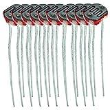 AZDelivery 1 x Set de 10 (10 unidades) diodos fotorresistentes 150V 5mm LDR5528 GL5528 5528 compatible con Arduino