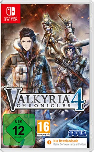 Valkyria Chronicles 4 (Switch) (Code in a Box) [Import allemand]