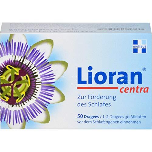 Lioran Centra Dragees zur Förderung des Schlafes, 50 St. Tabletten