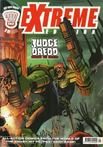 Diverse 2000 AD Extreme Edition Judge Dredd Dredd vs Death Comic [Edizione: Germania]