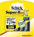 シック スーパー2プラスX 替刃 5個