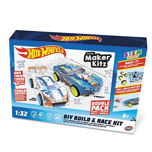 Hot Wheels Maker Kitz BUILD e RACE KIT - TWIN PACK - 51194