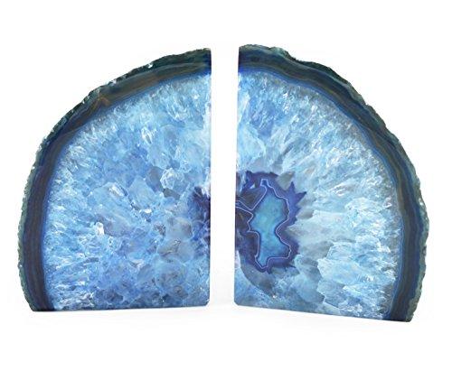 Sujetalibros de Ágata - Azul
