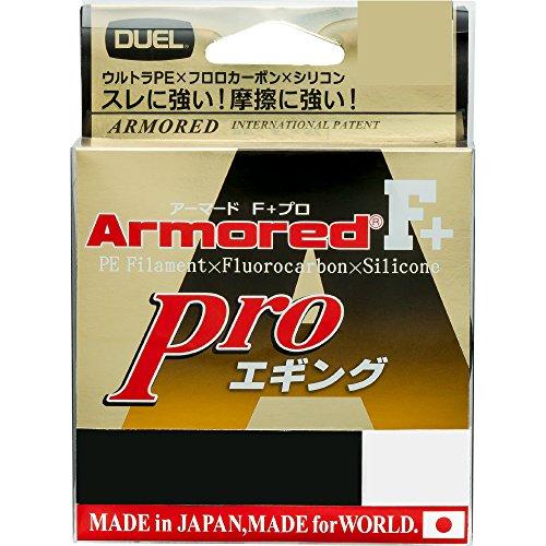 DUEL(デュエル) PEライン 0.6号 アーマード F+ Pro エギング 150M 0.6号 クリアーオレンジ エギング H4088