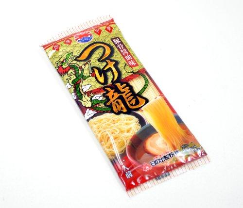 豚骨醤油味つけ麺 つけ龍豚骨醤油味 1人前15入 ノンフライ麺