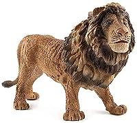 屋外の庭の彫像家の装飾動物の彫刻コレクション飾り、百獣の王ライオン