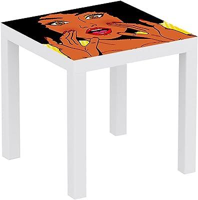 Metacrilato para Mesa IKEA Lack Personalizada Radiacción ...