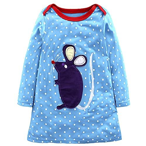 Kinder Pullover Kleid Kleinkind Baby...