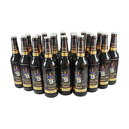 Pupen-Schultzes Schwarzes (20 Flaschen Schwarzbier à 0,5 l / 3,9% vol.)