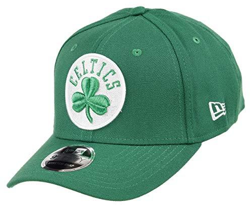 New Era Boston Celtics 9fifty Stretch Snapback Cap NBA Essential Green -...