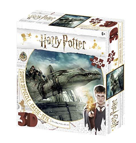 Harry Potter Norbert AMD Hermoine Granger Puzzle 3D 500 pièces Multicolore