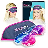 Eye Mask for Dry Eyes | Hot Cold Eye Mask | Warm Eye Compress | Heat Eye Mask for Styes, Blepharitis, MGD & Tired Eyes by Magic Gel