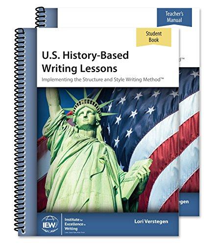 U.S. History-Based Writing Lessons [Teacher/Student Combo]