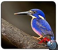 ZMvise青い鳥の背景ファッション漫画マウスパッドマットカスタム四角形ゲームマウスパッド
