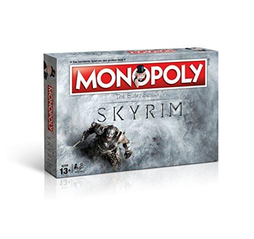Monopoly Skyrim Edition - das beliebte Gesellschaftsspiel trifft auf die Welt von The Elder Scrolls V: SKYRIM (Deutsch)
