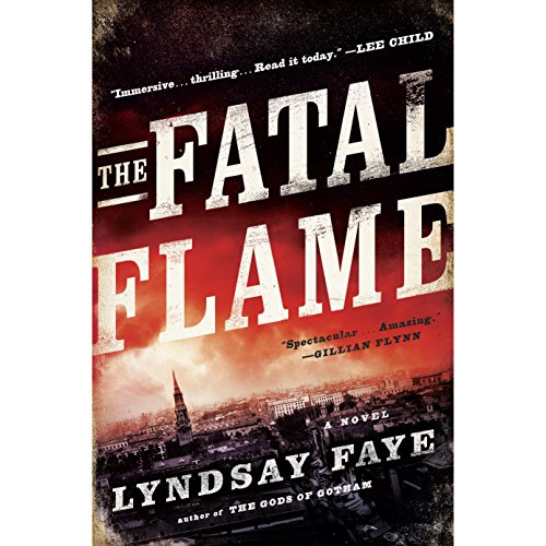 The Fatal Flame audiobook cover art