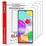 UYMO [4 Stück Samsung Galaxy A21S Panzerglas, Hartglas Schutzfolie [9H Festigkeit] [Anti-Öl] [Anti-Kratzen] Tempered Glas Bildschirmschutzfolie für Samsung Galaxy A21S