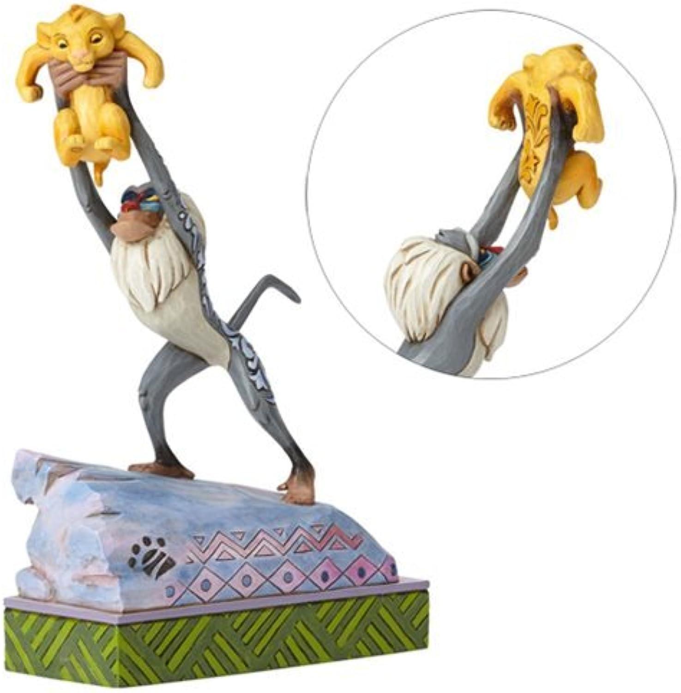 Jim Shore Disney Traditions by Enesco Rafiki and Baby Simba On Pride Rock Figurine 4055415