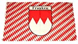 Fahne / Flagge Franken Raute NEU 90 x 150 cm Flaggen