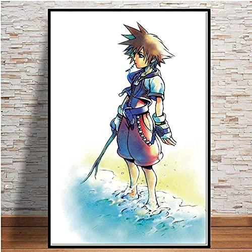 BOIPEEI Rompecabezas para Adultos, póster de Anime de 1000 Piezas, Grandes Regalos para familias, Hombres, Mujeres y niños, como Pintura Decorativa, Mural de Pintura Colgante, 50 x 75 cm