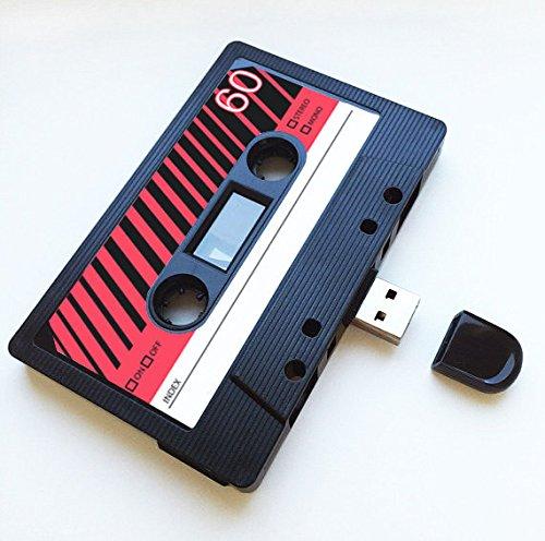 (8 GB) USB-Mixtape, Retro, Quirky Gescthenk, Fre&, Fre&in, Geburtsag, Hochzeit, Jahrestag, Valentinstag, Weihnachten, Flash-Laufwerk