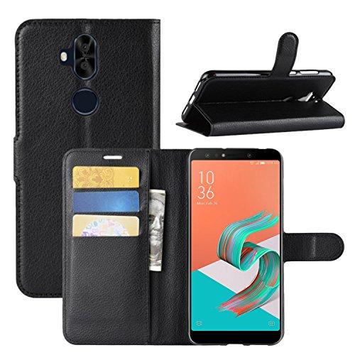 avis smartphone asus professionnel Coque HualuBro Zenfone 5 Lite ZC600KL, étui en cuir PU premium, portefeuille en cuir, housse…