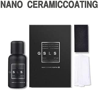 Hocossy High Gloss 9h Nano Super Ceramic car Coating Hydrophobic, Car Liquid Ceramic Coating Car Kit Painting Sealant Protection Coating Spray-30ML (9H Black)