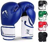 AQF Guantes De Boxeo para MMA Muay Thai Boxing Bag Guantes Boxeo De Kick Boxing Saco...