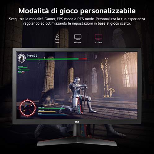 LG 24GL600F UltraGear Monitor Gaming 23.6