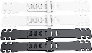 EXCEART 4 Stuks Uitbreiding Oorband Haak Anti-Aanscherping Oorbeschermer Decompressie Houder Haak Oorband Accessoires Voor...
