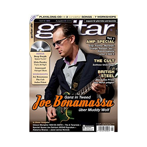 Guitar Ausgabe 05 2015 - Joe Bonamassa - mit CD - Interviews - Workshops - Playalong Songs - Test und Technik