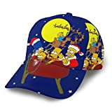 Dfhrtgre Simpsons Baseball Cap Herren Damen Washed