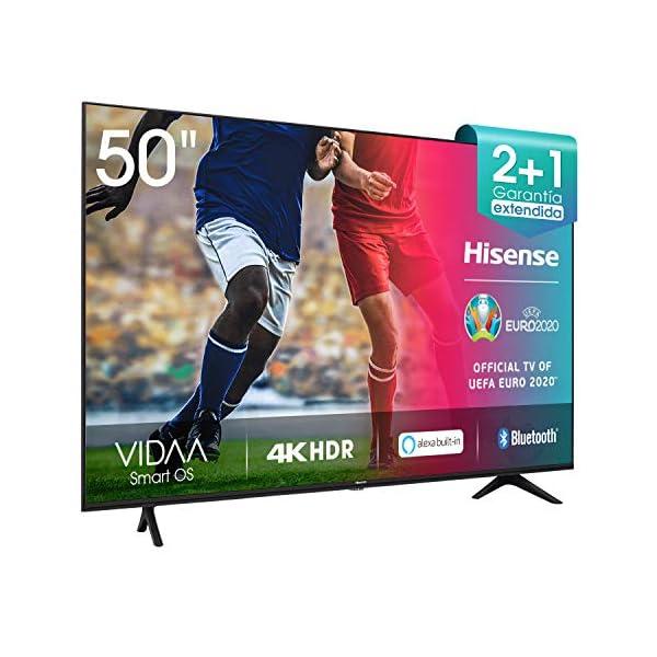 Hisense-H50BE7000-Smart-TV-50-4K-Ultra-HD-con-Alexa-Integrada-3-HDMI-2-USB-salida-ptica-y-de-auriculares-Wifi-HDR-Dolby-DTS-Procesador-Quad-Core-Smart-TV-VIDAA-U-30-con-IA