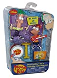 Phineas and Ferb Disney Figure Set - Guitar & Drum