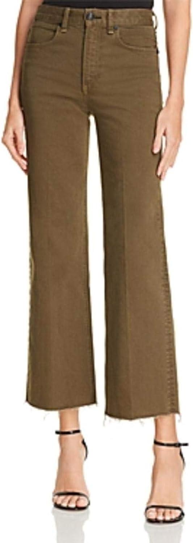 Rag & Bone Womens Justine Ankle High Rise Trouser Jeans