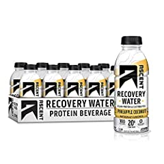 Revolutionary new protein water that offers high-quality protein & electrolytes in only 100 calories for optimal post-exercise recovery 20g of native whey protein, the least-processed whey protein available today Zero artificial ingredients 100 calor...