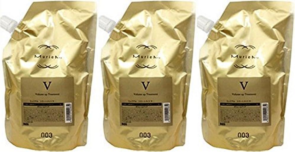 二層発送心から【X3個セット】 ナンバースリー ミュリアム ゴールド トリートメント V 500g 詰替え用