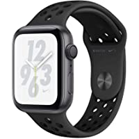 Apple Watch Nike+ Series 4 Smart Watch with Heart Rate Monitor (Anthracite/Black Nike Sport Band - Space Gray Aluminum)