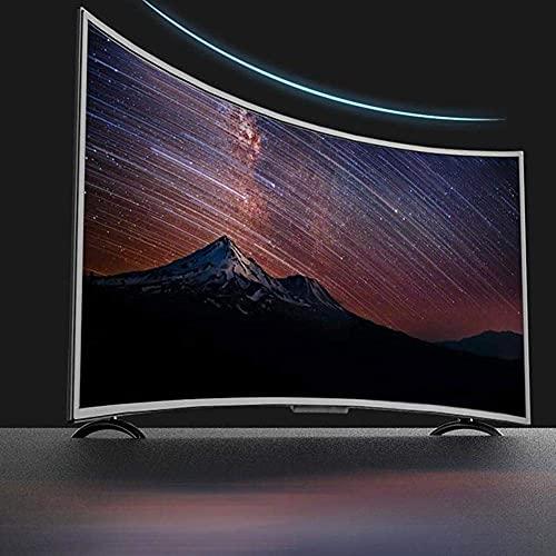 Kafuty Televisor de Pantalla Curva Grande de 32 Pulgadas Curvatura 3000R 4K HDR 1920x1200 HD TV Inteligente HDMI, Compatible con Cable e inalámbrico(EU Plug)