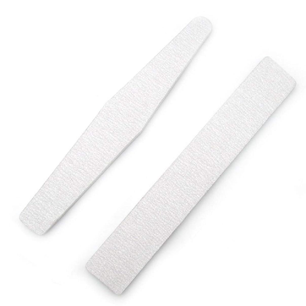 免疫するよりデッドジェルネイルファイル 爪磨き 爪やすり ネイルポリッシュファイル 高品質ネイルやすり スポンジファイル ネイルをつやつやに シンプルで使いやすい 男女兼用 新年の贈り物 両面使える ネイルポリッシュファイル(2枚セット) (1set)