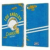 Head Case Designs sous Licence Officielle NFL Casque Look Affligé 100e Los Angeles Chargers Logo...