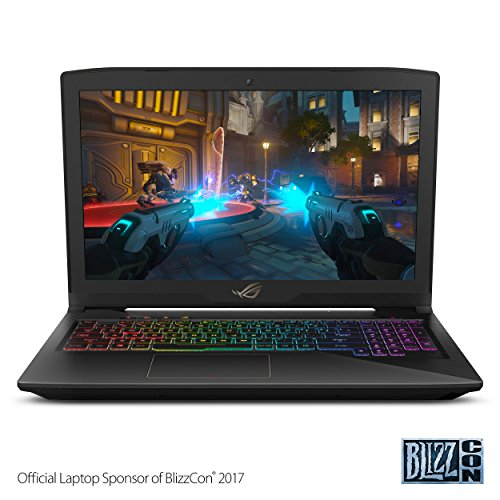 "Asus ROG Strix Thin and Light Gaming Laptop, 15"" Full HD, Intel Core i7-7700HQ Processor,..."