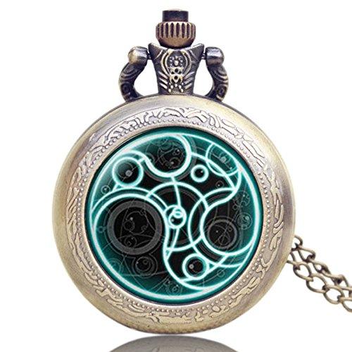 Taschenuhr Uk Tv Arzt, Die Thema Serie Pocket Watch Chain Anhänger Uhren Dr. Wer Fans Geschenk