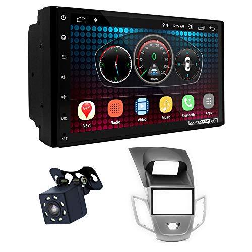 UGAR EX6 7 pollici Android 6.0 DSP Navigazione GPS per Autoradio + 11-306 Kit di Montaggio compatibile per Ford Fiesta 2008+