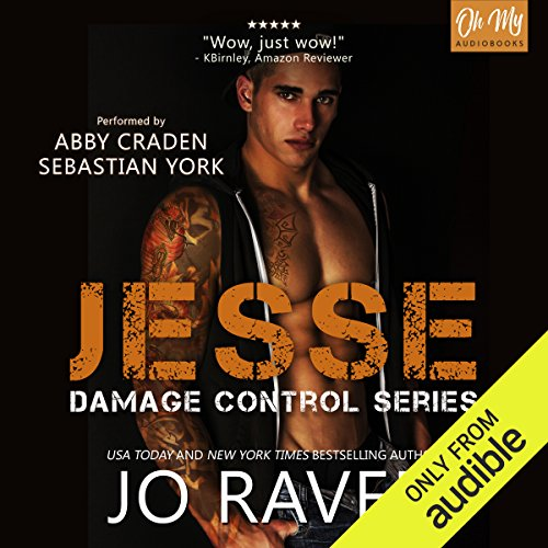 Jesse     Damage Control, Book 2              By:                                                                                                                                 Jo Raven                               Narrated by:                                                                                                                                 Sebastian York,                                                                                        Abby Craden                      Length: 9 hrs and 29 mins     42 ratings     Overall 4.4