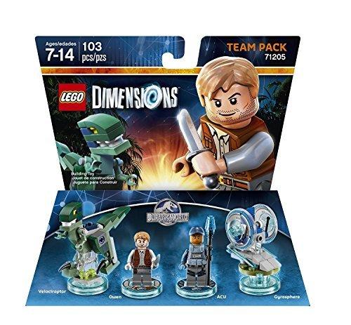 Jurassic World Team Pack - LEGO Dimensions by Warner Home Video - Games [並行輸入品]