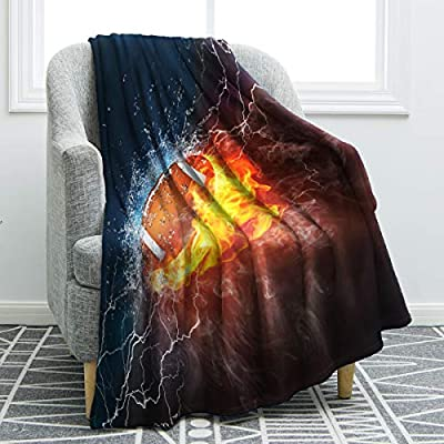 Jekeno Throw Blankets Giant Wrap Flannel Fleece Blanket for Sofa Chair Travelling Camping Round