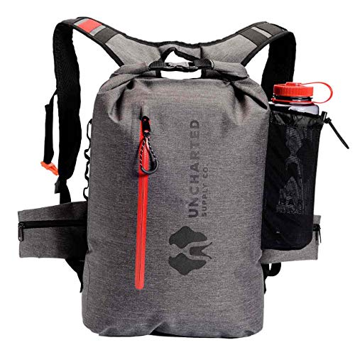 Uncharted Supply Co The Seventy2 Survival System Grey - 72 Hour Emergency Preparedness Kit - Ideal for Your Car, Home, Survival Readiness, and Camping